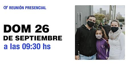 Reunión Presencial en Caudal de Vida - Domingo 26/09 9:30 hs tickets