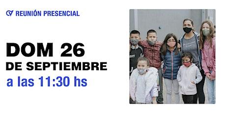 Reunión Presencial en Caudal de Vida Domingo 26/09 11:30 hs. tickets