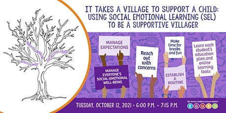 It Takes a Village to Support a Child:Using SEL to Be a Supportive Villager tickets