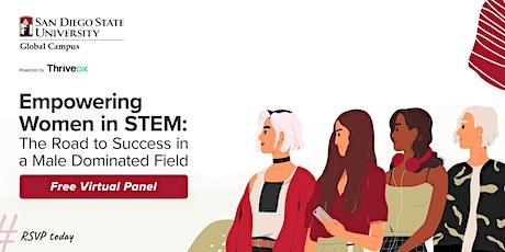 Empowering Women in STEM   Virtual Panel tickets