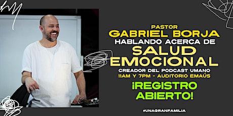SERVICIO PRESENCIAL - DOMINGO 26 DE SEPTIEMBRE CON GABRIEL BORJA boletos