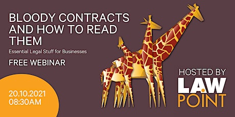 Bloody contracts and how to read them webinar tickets