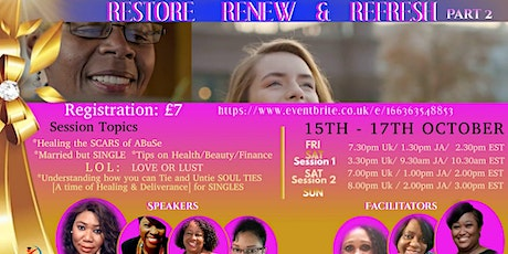 CDL Education Virtual Kingdom Women's  Int'l  Conference 15 -17 OCT tickets