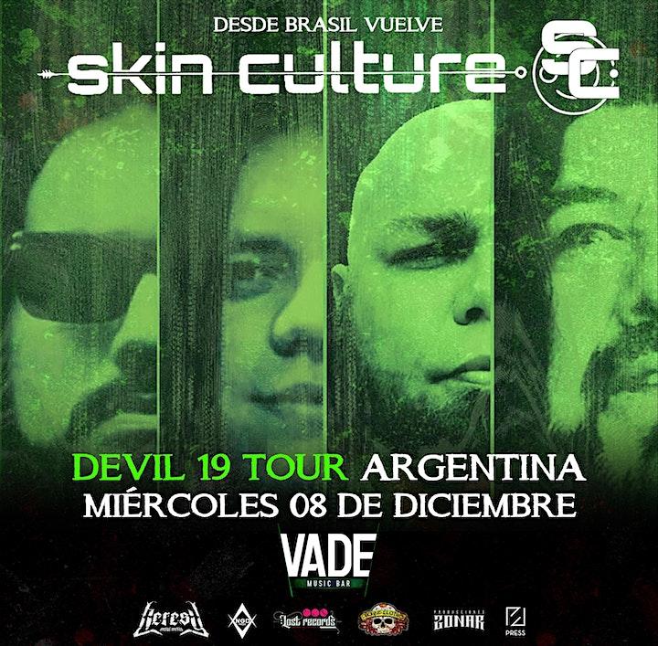 Imagen de Skin Culture (Brasil) - DEVIL 19 TOUR - VADENUEVO