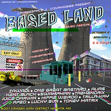 BASED LAND Music Festival 10/2 tickets