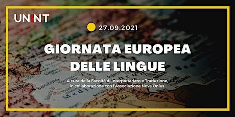 Giornata europea delle lingue biglietti