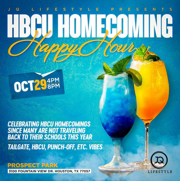 HBCU HOMECOMING HAPPY HOUR [4:00PM - 8:00PM] image