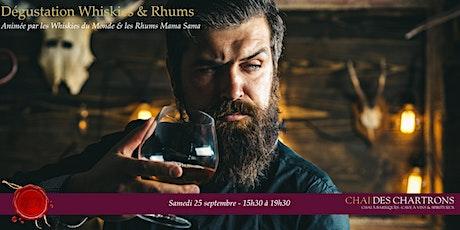 Dégustation Whiskies du Monde & Rhums Arrangés Mama Sama billets