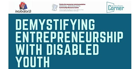 Demystifying Entrepreneurship With Disabled Youth (DEWDY) tickets