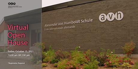 Virtual Open House - AvH German International School Montreal tickets