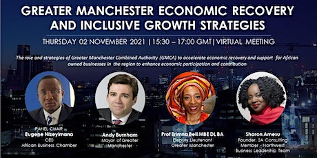 Greater Manchester Economic Recovery and Support for African Businesses tickets