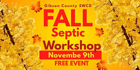 Free Fall Septic Workshop tickets