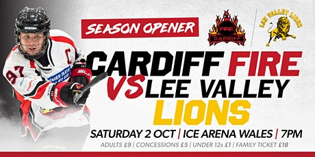 Cardiff Fire vs Lee Valley Lions - Season Opener tickets