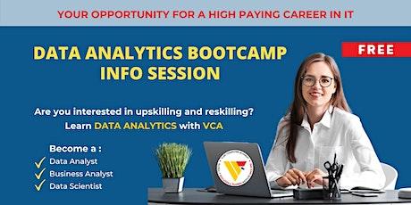 VCA DATA ANALYTICS Bootcamp | Info Session tickets