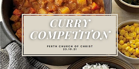 Curry Competition tickets