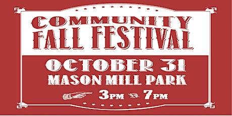 Fall Festival at Mason Mill Park tickets