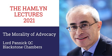 The Hamlyn Lectures 2021: The Morality of Advocacy (Cardiff) tickets
