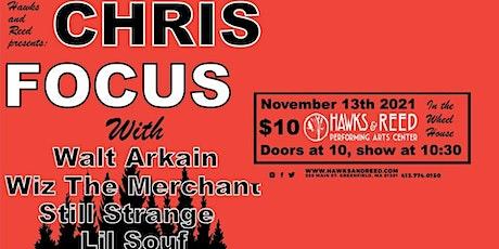 Hip-Hop in The Wheelhouse ft. Chris Focus  & More... tickets