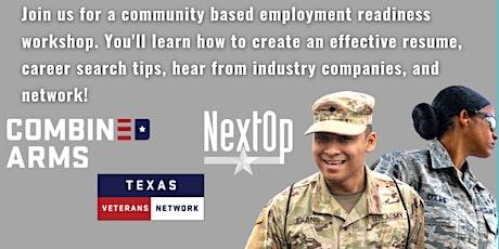 North Texas Veteran Employment Readiness Workshop tickets