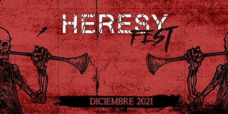 Heresy Fest 2021 entradas