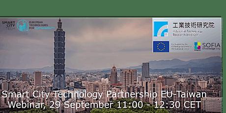 Smart City Technology Partnership - EU - Taiwan tickets