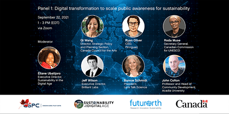 Digital Transformation to Scale Public Awareness for Sustainability tickets