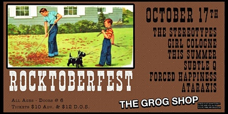 Rocktoberfest at The Grog Shop tickets