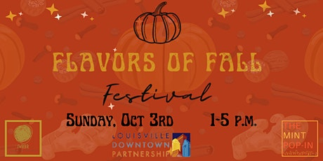Flavors of Fall Festival tickets