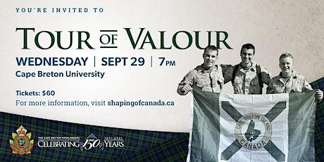 Tour of Valour tickets