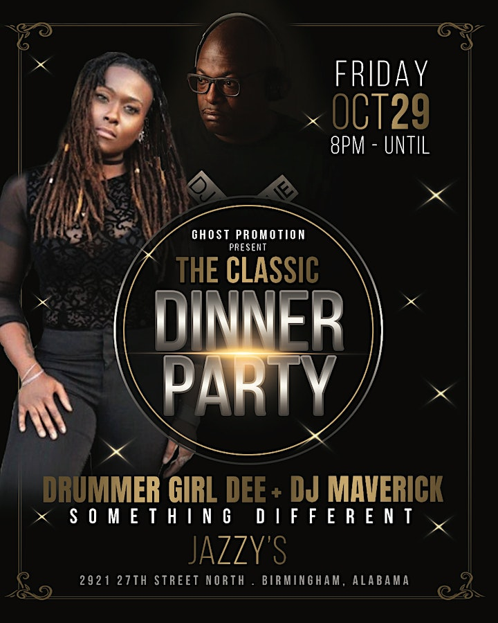 The  Classic Dinner Party with Drummer Girl Dee & Dj MAVERICK image