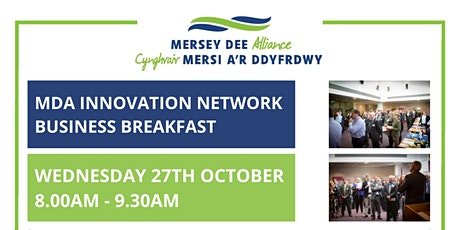 MDA Innovation Network Business Breakfast - Wednesday 27th October 2021 tickets