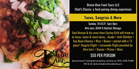Chef's Classic: a food  pairing event featuring Tacos & Sangria tickets