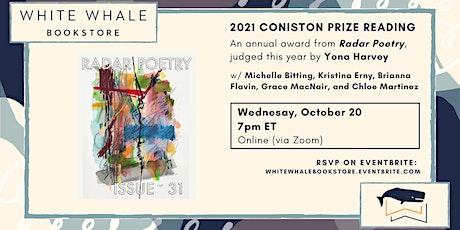 The 2021 Coniston Prize Reading: Bitting, Erny, Flavin, MacNair, Martinez tickets
