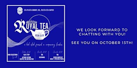 Royal Tea Virtual Book Club tickets