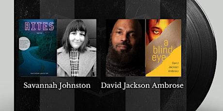 Authors on Tap:  Savannah Johnston and  David Jackson Ambrose tickets