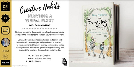 Creative Habits: Starting a Visual Diary with Gary Andrews tickets