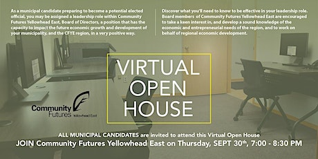 All Candidates Virtual Open House tickets