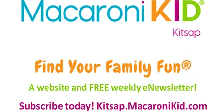 Find Your Family Fun in Kitsap County - FREE Calendar tickets