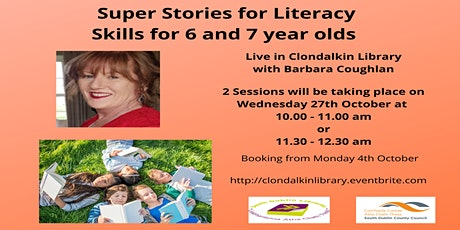 Super Stories for Literacy Skills for 6 and 7 year olds tickets