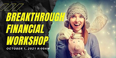 Breakthrough Financial Workshop tickets