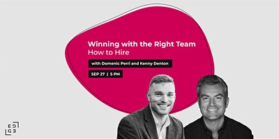 Mentor Monday   Winning with the Right Team