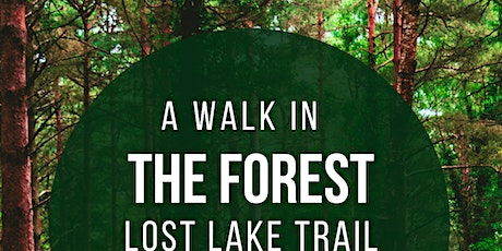 Walk around Lost Lake for the 50+ community tickets