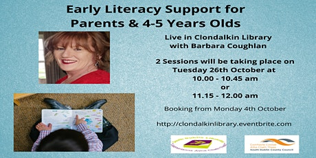 Early Literacy Support for Parents and 4-5 year olds tickets