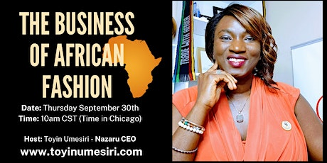 The Business of African Fashion Tickets
