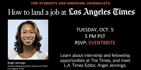 How To Land A Job At The Los Angeles Times tickets
