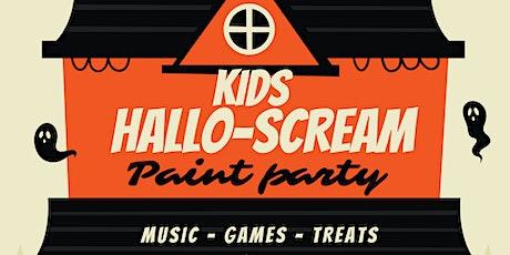 Kids HALLO-SCREAM Paint Party tickets