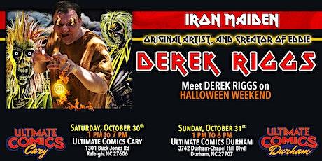 Meet Derek Riggs, Creator of Iron Maiden's Eddie at Ultimate Comics Durham tickets