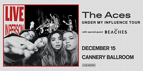 The Aces – Under My Influence Fall Tour tickets