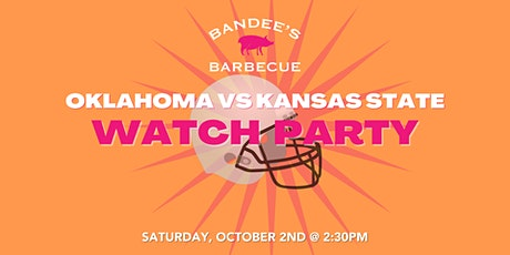 Oklahoma VS Kansas State Watch Party tickets