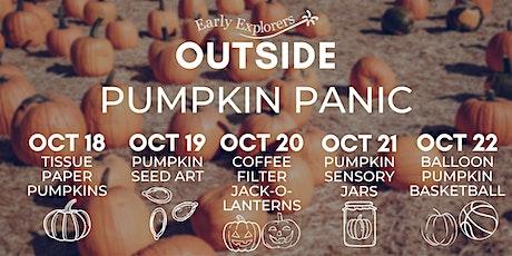 Early Explorers Outside | Pumpkin Panic tickets